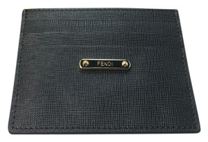 Fendi Black Fendi Card Case Crayon Collection