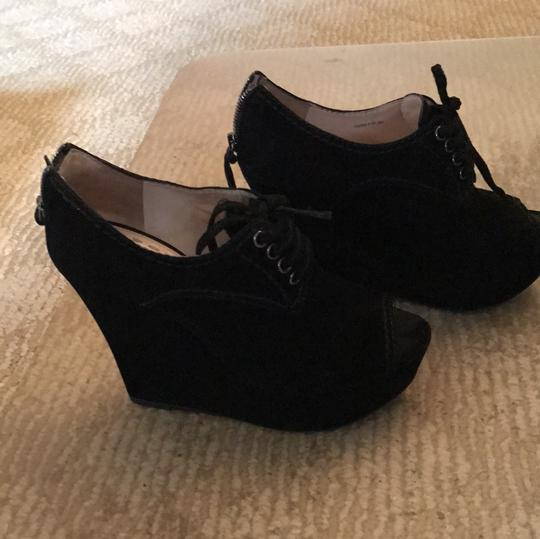 Miu Miu Black Wedges Image 2