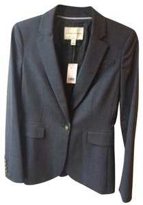 Banana Republic Woman's Suit Jacket Blue Grey with matching size 8 skirt