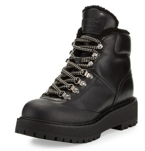 Prada Hiking Combat black Boots