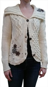 Cousin Johnny Cotton Applique Sequin Cardigan