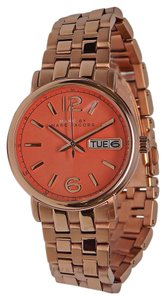 Marc by Marc Jacobs NWT WOMENS MARC by MARC JACOBS (MBM8648) FERGUS PEACH ROSE GOLD WATCH