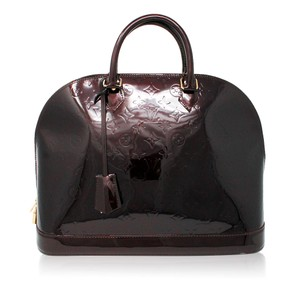 Louis Vuitton Alma Gm Vernis Shoulder Bag