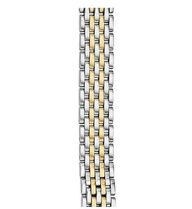 Michele New 12mm Serein 12 Gold Plated Watch Bracelet Band MS12FH246710