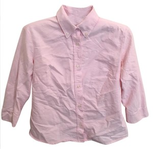 United Colors of Benetton Down Oxford Button Down Shirt pink