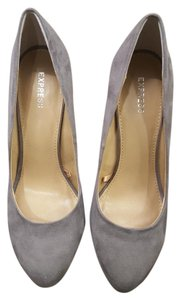 Express Grey Pumps