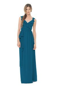 Joanna August Sea Of Love Lacey Long Dress