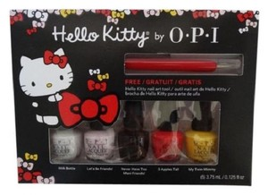 OPI OPI Hello Kitty Friend 5 pc MINI NAIL LACQUER SET 3.75 ML POLISH