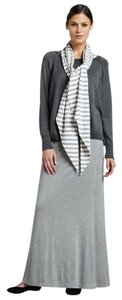 Eileen Fisher Fully Lined Soft Pull On Styling Maxi Skirt NWT Grey