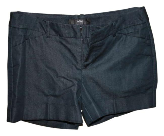 Mossimo Supply Co. Cuffed Stretchy Dress Shorts Navy blue