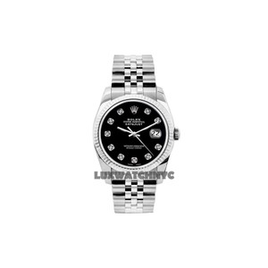 Rolex 31MM ROLEX MIDSIZE S/S WATCH W/ ROLEX BOX & APPRAISAL