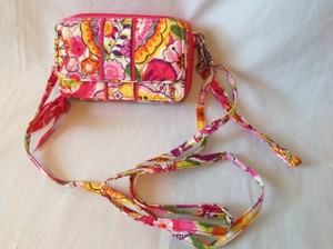 Vera Bradley Sun Valley Vera Bradley All in One Cross Body Wallet Hipster