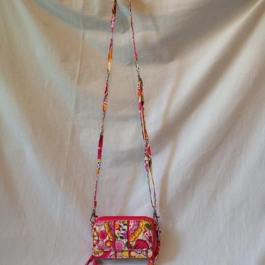Vera Bradley Sun Valley Vera Bradley All in One Cross Body Wallet Hipster Image 5
