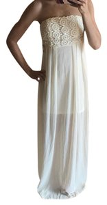 ivory Maxi Dress by Other