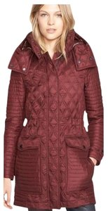 Burberry Brit Trend Check Quilted Trench Coat
