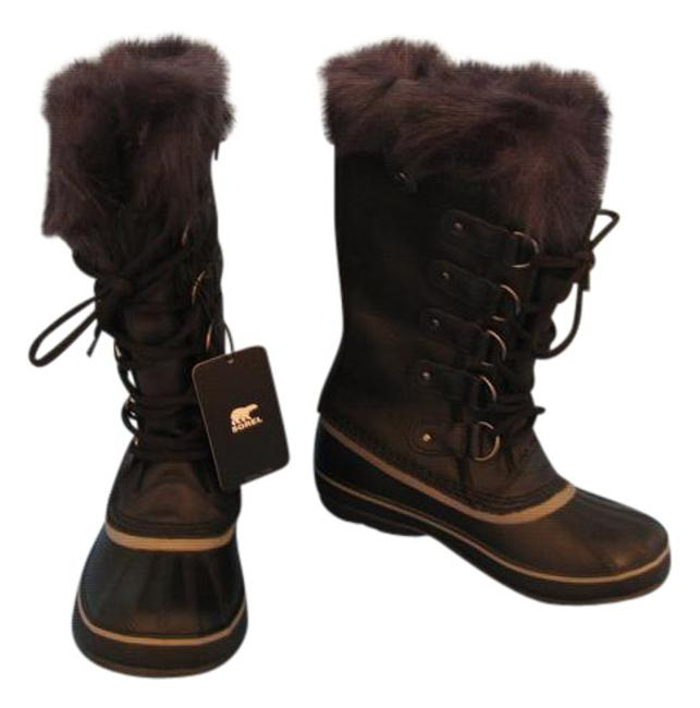 Item - Black & Navy New Womens Joan Of Arctic Obsidian Leather Boots/Booties Size US 6.5 Regular (M, B)