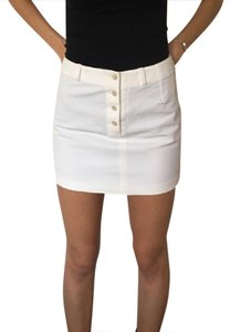 Ralph Lauren Cute Mini Skirt WHITE
