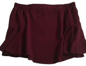 Topshop Top burgundy