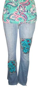 Lucky Brand Zombie Xsmall Sale 15off Straight Leg Jeans-Light Wash