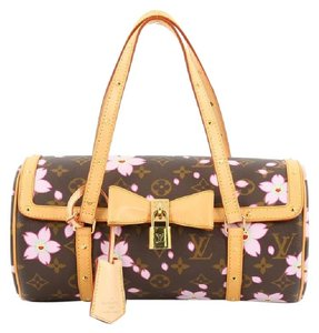 Louis Vuitton Papillon Limited Edition Cherry Blossom Shoulder Bag