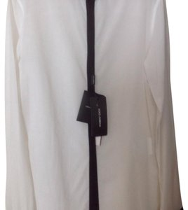 Dolce&Gabbana Button Down Shirt White and black
