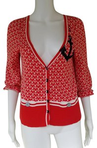 Anthropologie Knit Cotton 3/4 Sleeves Cardigan