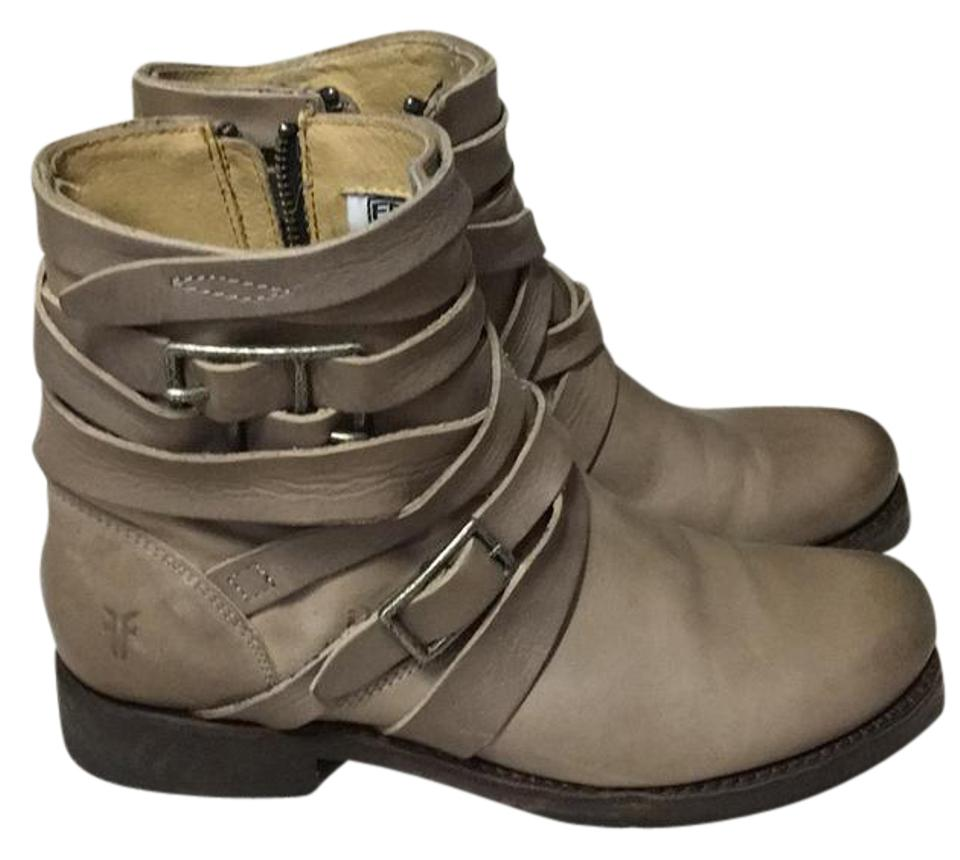 Frye Worn Taupe Only Worn Frye Once Boots/Booties 47bea1