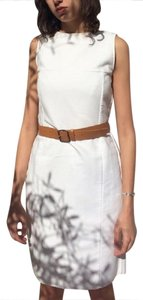 Jil Sander short dress White Belt on Tradesy