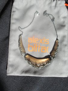 Alexis Bittar Alexis Bittar Lucite Crystal Lace Bib Necklace