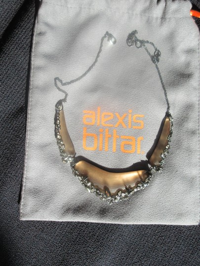 Preload https://img-static.tradesy.com/item/20709207/alexis-bittar-beige-lucite-crystal-lace-bib-necklace-0-7-540-540.jpg