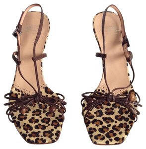 Moschino Brown Sandals