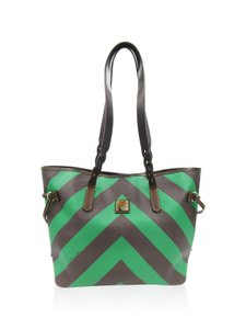 Dooney & Bourke Tote in green and brown