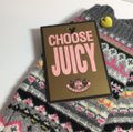 Juicy Couture JUICY COUTURE Text Me Leather Gloves NEW Image 2