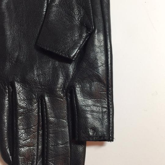 Juicy Couture JUICY COUTURE Text Me Leather Gloves NEW Image 6