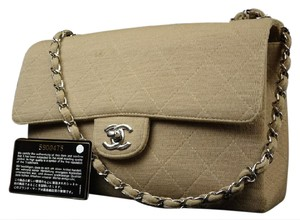 Chanel Medium Flap Classic Lambskin Caviar Shoulder Bag