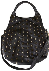 Thomas Wylde Wylde Handbag Leather Skull Hobo Bag