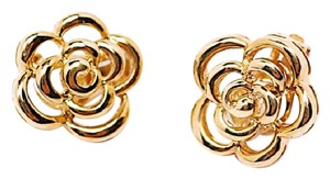 Van Cleef & Arpels VAN CLEEF & ARPELS Floret Earrings in 18k Yellow Gold c 1998 16gr