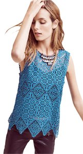 Anthropologie Top Teal / Blue