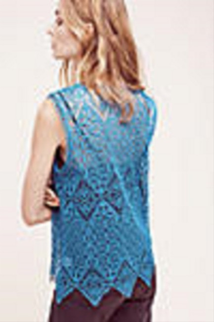 Anthropologie Top Teal / Blue Image 2