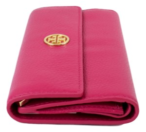 Tory Burch Tory Burch Landon Jewelry Roll in Pebbled Leather