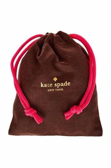 Kate Spade Rodium plated this is the year engraved bangle Image 1