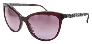 Chanel Rare Chanel Burgundy Bijoux Crystal Sunglasses
