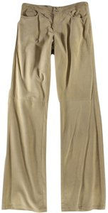 Ralph Lauren Suede Straight Pants Blonde