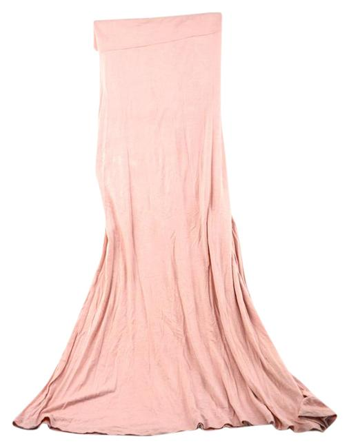 Windsor Maternity Blush Maxi Skirt Pink Image 1