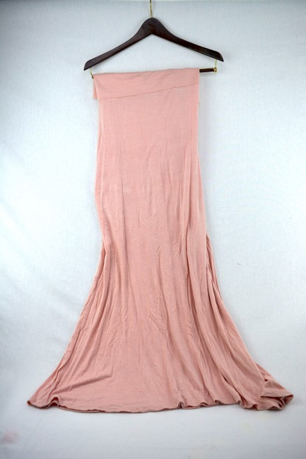 Windsor Maternity Blush Maxi Skirt Pink Image 2