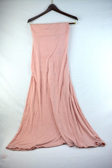 Windsor Maternity Blush Maxi Skirt Pink Image 4