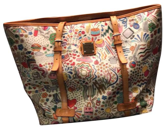 Item - Summer Multi-color Leather Tote