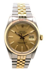 Rolex Rolex Men's 16013 Stainless and 18K Gold DateJust Men's Watch