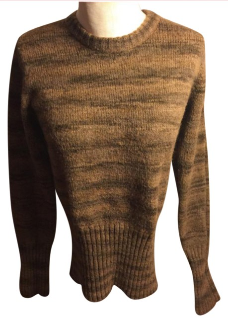 Preload https://img-static.tradesy.com/item/20709941/columbia-sportswear-company-dark-and-light-brown-medium-columbia-darklighter-print-wool-blend-crewne-0-1-650-650.jpg