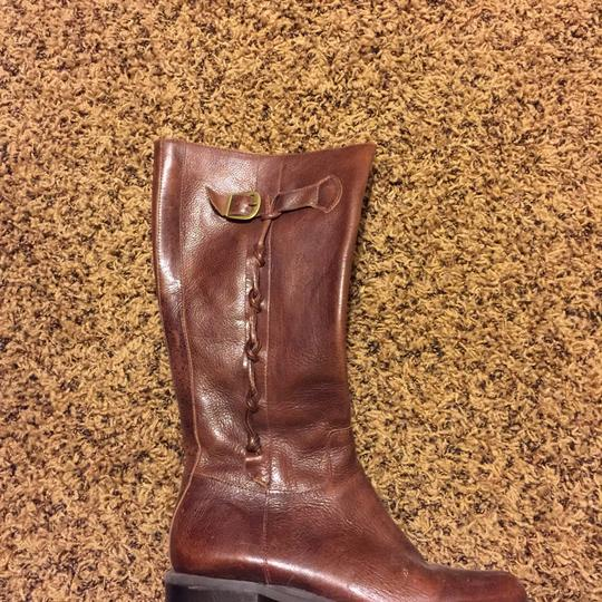 Nicole Brown Boots Image 1